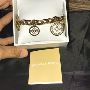 MK authentic bracelet stainless